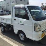 【機械入庫】スズキ・軽ダンプ