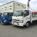 【機械入庫】日野/2tダンプ・4tダンプ・3t平トラックロング