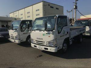 【車両入庫】平トラック・ダンプ/ISUZU
