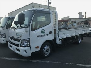 【車両入庫】2t平トラック/日野