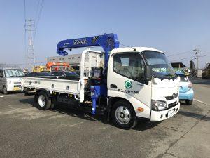 【納車情報】4tクレーン付トラック/日野・タダノ