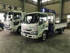 【納車情報】日野/2tクレーン付トラック・4t平トラック