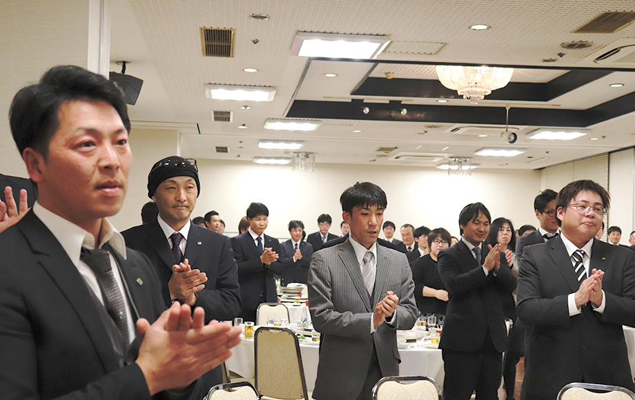 採用情報 熊本中央リース株式会社 新年会