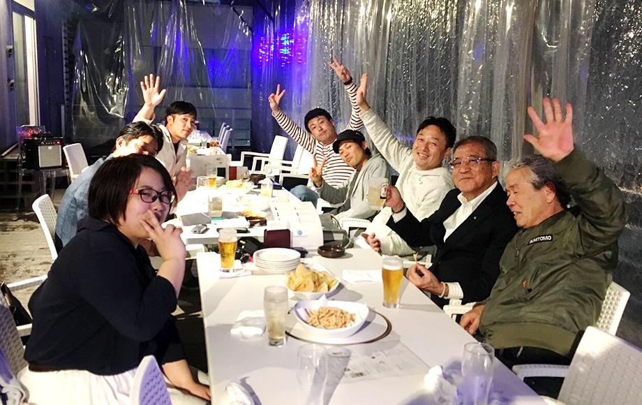 採用情報 熊本中央リース株式会社 繁忙期慰労会