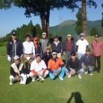 熊本中央リースゴルフコンペ 集合写真