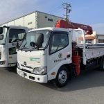 ≪新着≫納車情報!! 日野/2tクレーン付きトラック・4t平トラック