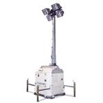4灯式ハイドロパワーキューブ 油圧昇降式照明器具
