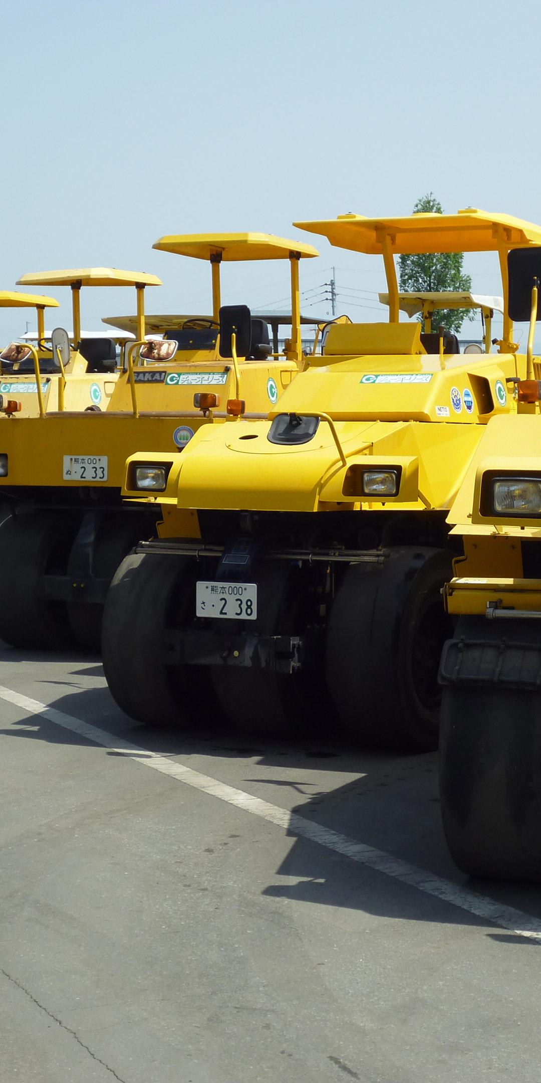 熊本中央リース タイヤローラー