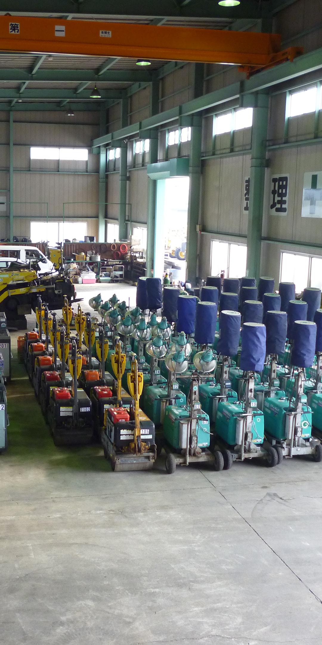 熊本中央リース 小型機械