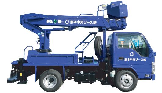 高所作業車 レンタル商品 車両 熊本中央リース