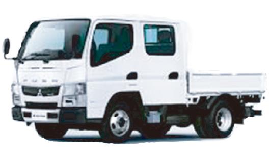 トラック(パワーゲート、Wキャブ) レンタル商品 車両 熊本中央リース