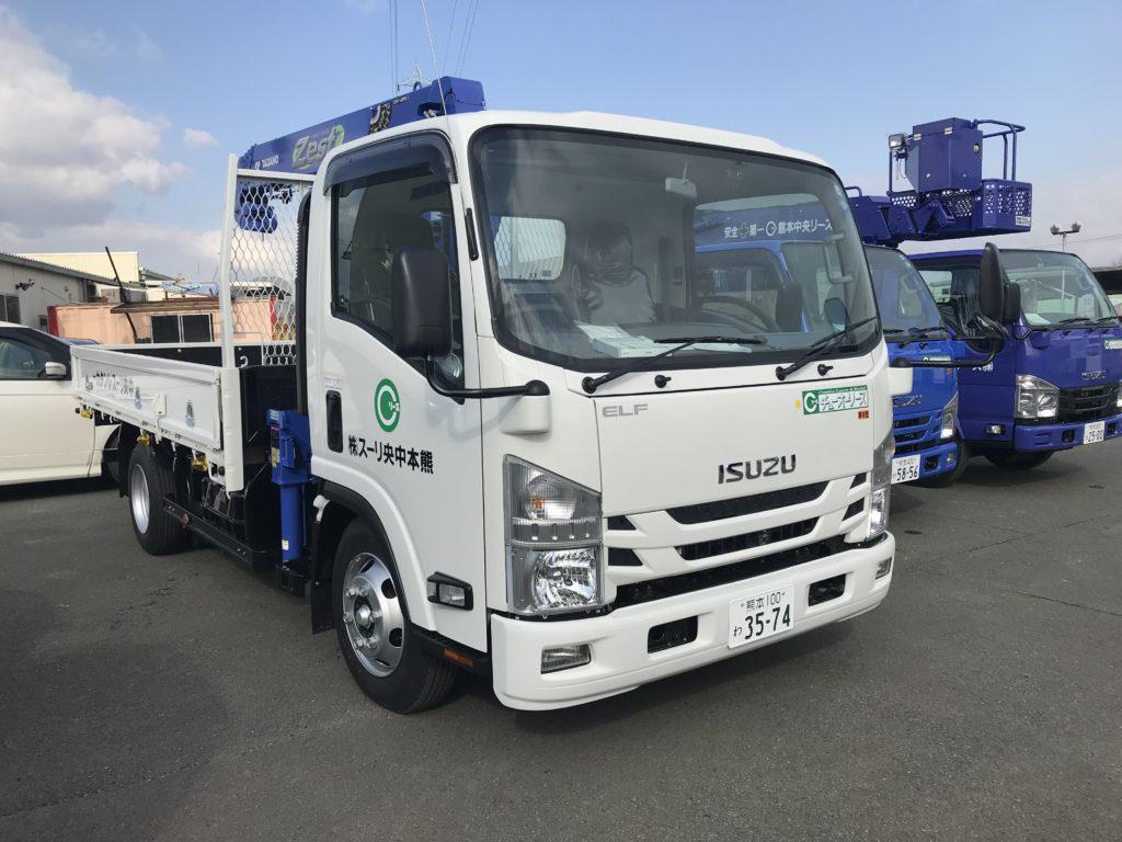 新着 納車情報 いすゞ・タダノ 3tクレーン付トラック