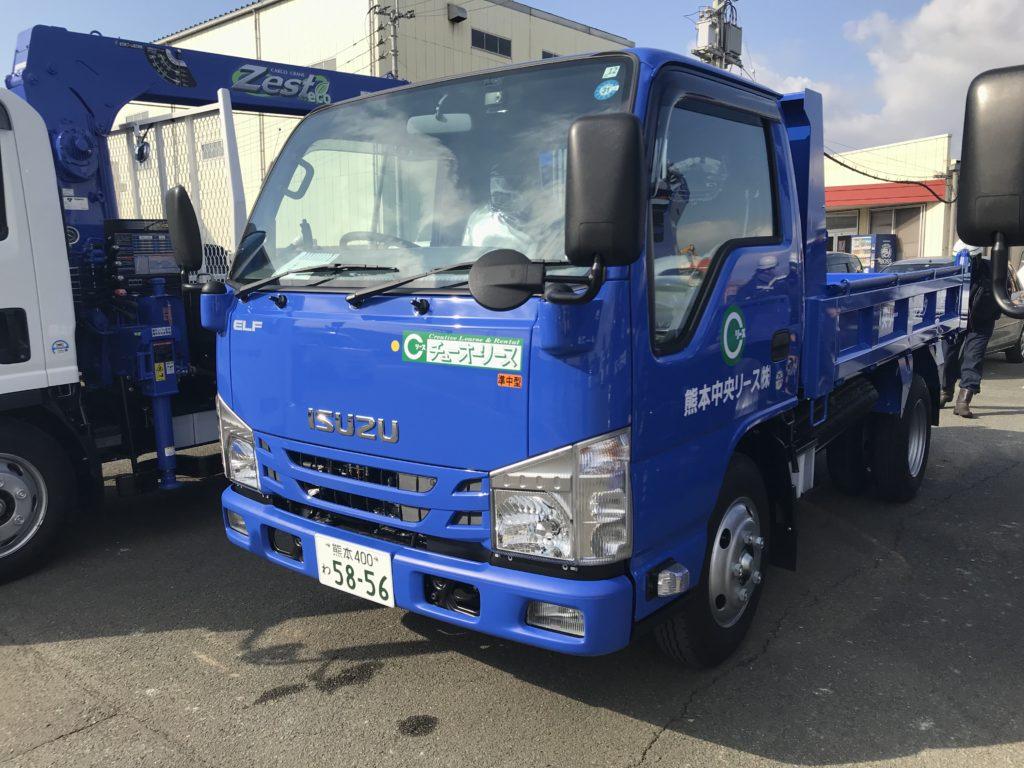 新着 納車情報 いすゞ・タダノ 2tダンプ