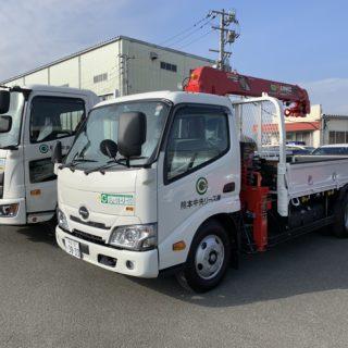 日野/2tクレーン付きトラック・4t平トラック